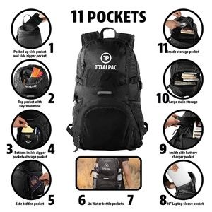 Bags - NWT Lightweight Backpack Hiking & Travel